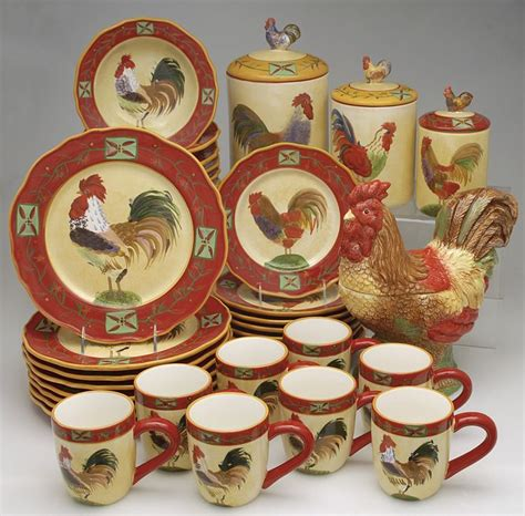 country kitchen dishes country roosters for the kitchen country living kitchen 2787