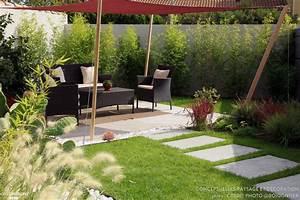 Jardin inspiration jardin mexicain, ConceptuELLES Paysage et Décoration Côté Maison