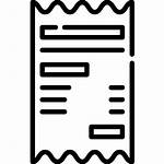 Icon Receipt Icons Invoice Dollar Business Edit