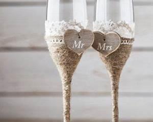 Flûtes à Champagne Originales : 1000 id es sur le th me th mes de mariage de vin sur ~ Teatrodelosmanantiales.com Idées de Décoration