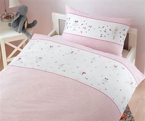Kinderbettwäsche 100x135 Mädchen : bettw sche f r kinder mit ballerina in rosa bei bms ~ Orissabook.com Haus und Dekorationen
