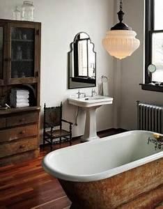 Badezimmer Retro Look : 10 coole ideen f r badezimmerdeckenlampen ~ Orissabook.com Haus und Dekorationen