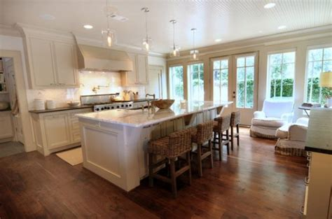 open kitchen floor plans with islands 37 multifunctional kitchen islands with seating