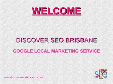 Local Marketing Services - googlr local marketing seo brisbane