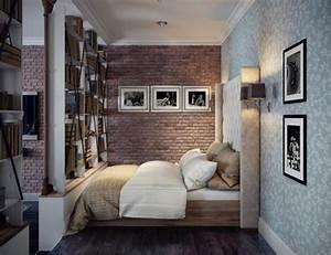 2, Single, Bedroom, Apartment, Designs, Under, 75, Square, Meters