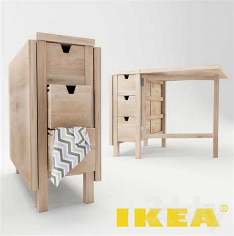 3d Models Table  Ikea  Norden Table