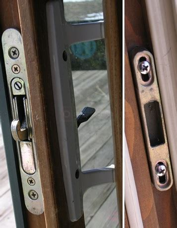 marvin sliding patio door hardware handle set  mortise lock biltbest window parts