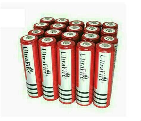 jual baterai ultrafire 18650 rechargeable battery 18650 di lapak bel bel bella