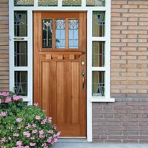 Tuscany Hardwood Door with Tulip style Tri Glazing