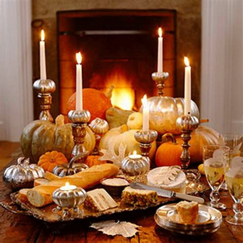 Create   Ambience Easy Thanksgiving Centerpieces