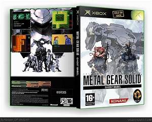Metal Gear Solid Ghost Babel Xbox Box Art Cover By KeeperDP