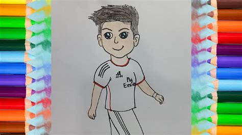 draw cristiano ronaldo cute  easy