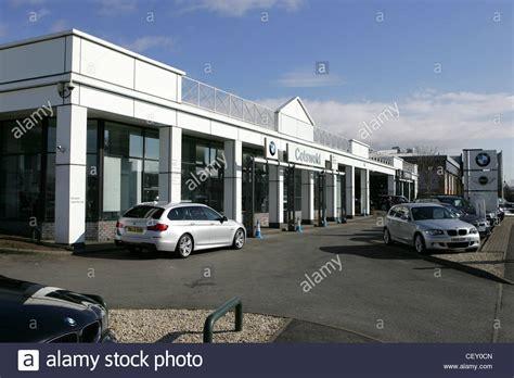 bmw dealership cotswold bmw dealership cheltenham uk stock photo