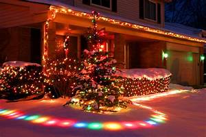 Colorful Christmas Snow Lights Effects Pictures, Photos ...