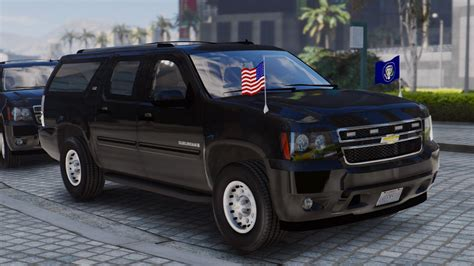 chevy suburban chevrolet suburban secret service add on wipers gta5
