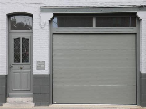 porte de garage sectionnelle la toulousaine distributeur 224 dunkerque