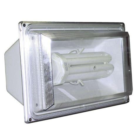 home depot flood lights lights of america white fluorex flood light 9265 the