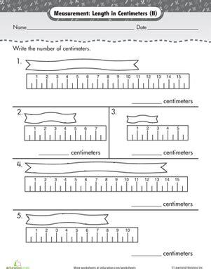 measurement length  centimeters  images math