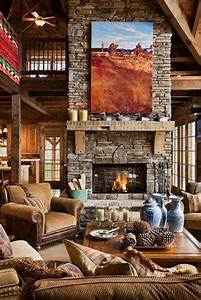 40 rustic interior design for your home for Interior design ideas rustic look
