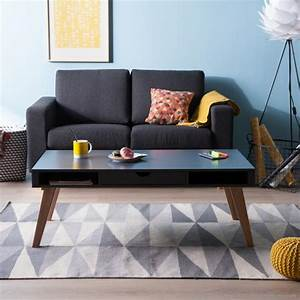 Table Basse Tiroir : la table basse avec tiroir un meuble pratique et d co ~ Teatrodelosmanantiales.com Idées de Décoration