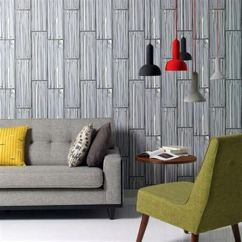 Muster Tapete Wohnzimmer by Living Room Wall Design Ideas Cool Exles Of Wallpaper