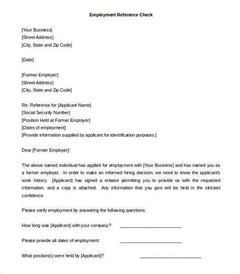reference letter template from employer 42 reference letter templates pdf doc free premium templates