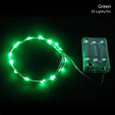 convert outdoor lights to battery 2 3 5m silver wire led mini string lights outdoor 4 5v battery power 9998 ebay