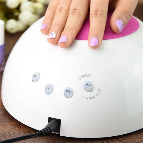 uv led nail lamp nail dryer ice 02 48w  Soak Off Gel Nail