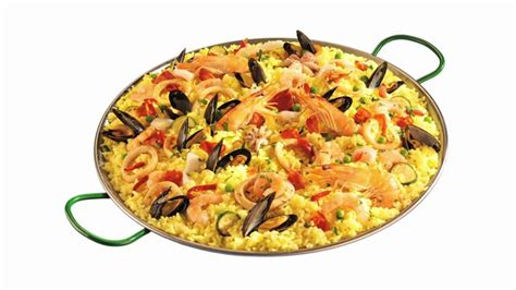 cuisiner les fruits de mer paella riz bouger hd stock 509 412 740 framepool rightsmith stock footage
