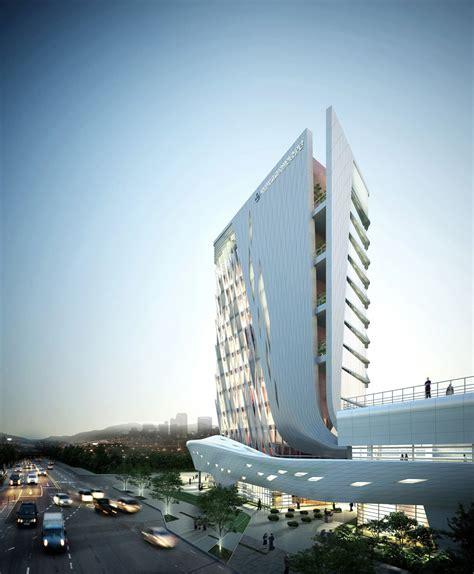 architectual designs the korea teachers pension office tomoon architects