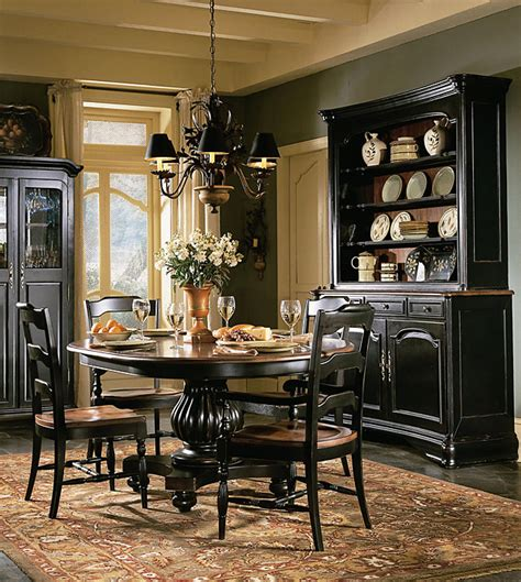Raymour And Flanigan Black Dining Room Set by Indigo Creek Black Round Pedestal Dining Room Table Set