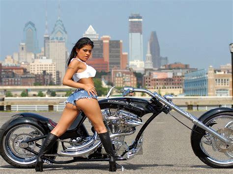 pooki biker babes wallpapers