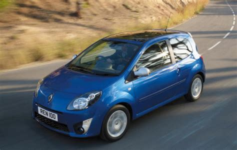renault green renault twingo small green car