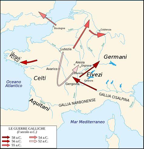 Filecaesar Campaigns Gaul Itsvg Wikipedia