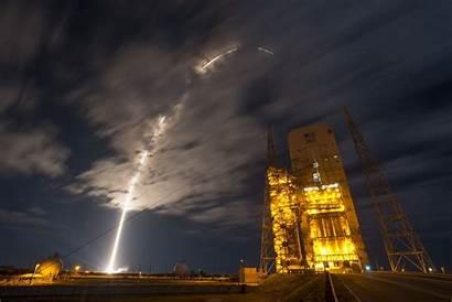 Cygnus Cargo Space Spacecraft Nasa Night