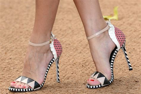Colorful High Heel Sandals For Spring