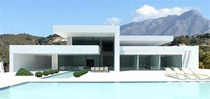 modern turnkey villas in spain france portugal With beautiful maison toit plat en l 7 maison de ville avec piscine toit plat