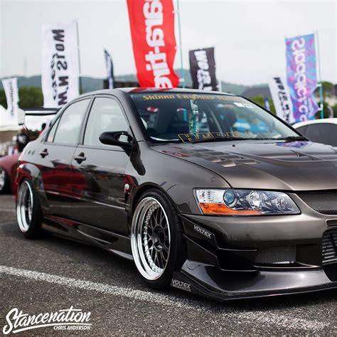 Car, Mitsubishi Lancer Evo Ix, Tuning, Jdm, Stance