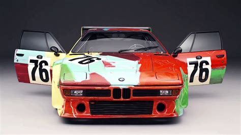 Andy Warhol Bmw M1 Art Car (1979) Documentary