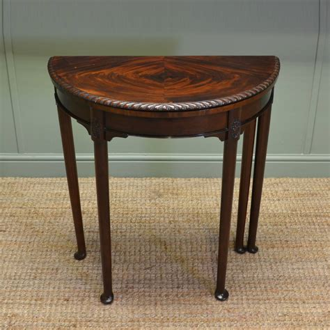 small antique side tables small edwardian antique d end side table 5346