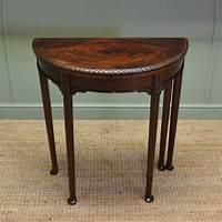 vintage end table Elegant Small Edwardian Antique D End Games / Side Table - Antiques World
