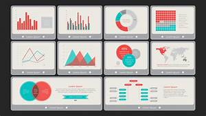 Flat vintage powerpoint dashboard slidemodel for Powerpoint theme vs template
