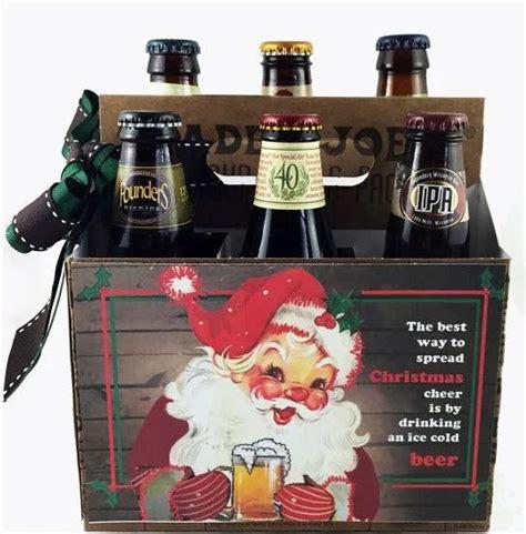 happy holidays beer  pack design allfreechristmascraftscom