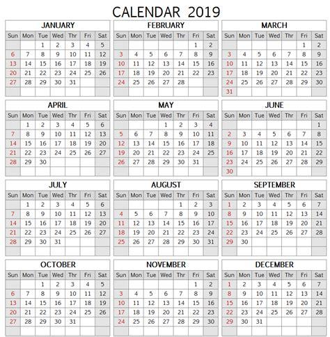 printable  canadian calendar template paper