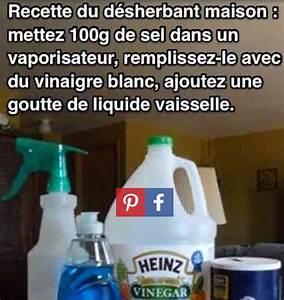 Vinaigre Blanc 14 Desherbant : d sherbant maison au vinaigre blanc ~ Melissatoandfro.com Idées de Décoration
