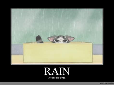Rain Memes - rain anime meme com