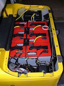 Charge 48 Volt Cart With 36 And 12 Volt Charger