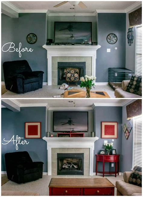 living room makeover faithfully