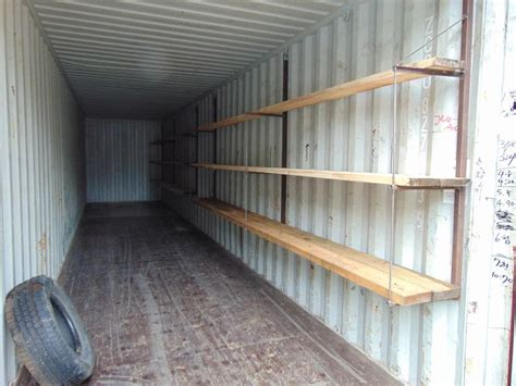 hanging shelving sea canshipping container