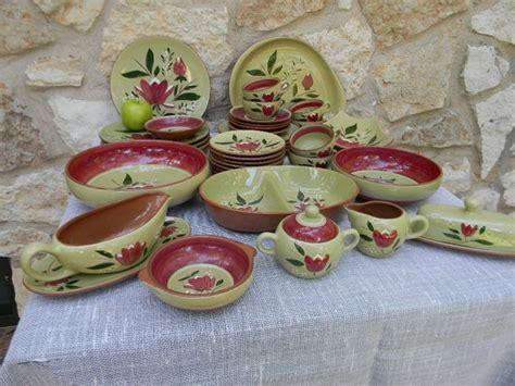 Vintage Mid Century Stangl Pottery Magnolia Pattern
